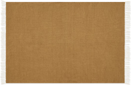 An Image of Ofrah Indoor/Outdoor Rug, Large 160 x 230cm, Ochre Yellow
