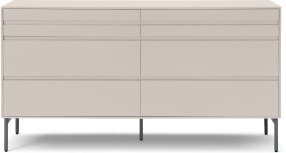 An Image of Donica Wide Chest of Drawers, Warm Ecru