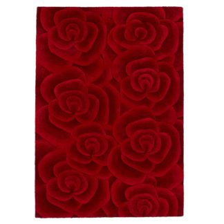 An Image of Valentine Rug Red