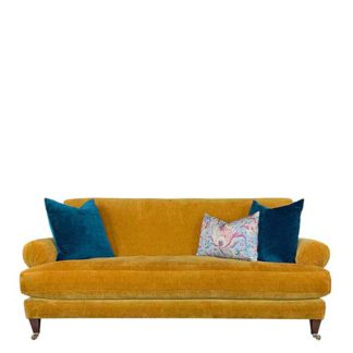 An Image of Drew Pritchard Durant 3 Seater Sofa - Barker & Stonehouse