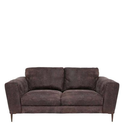 An Image of New Troy Leather Sofa - Barker & Stonehouse
