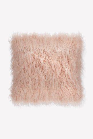 An Image of Faux Mongolian Fur Cushion
