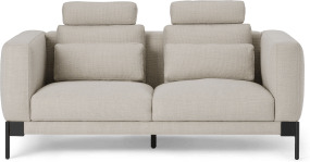 An Image of Daxton 2 Seater Sofa, Oat Weave