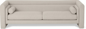 An Image of Mathilde 3 Seater Sofa, Oat Weave
