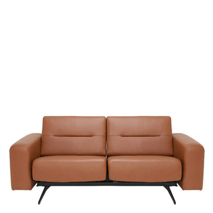 An Image of Stressless Stella 2 Seater Sofa Choice of Leather - Barker & Stonehouse