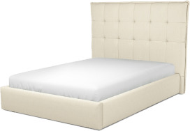 An Image of Lamas Double Ottoman Storage Bed, Putty Cotton
