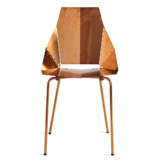 An Image of Blu Dot Real Good Chair Copper