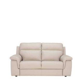 An Image of Fulton 2 Seater Leather Sofa - Barker & Stonehouse
