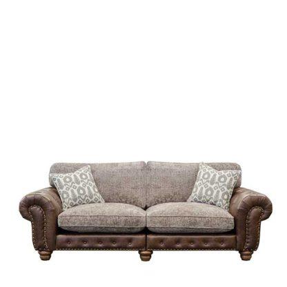 An Image of Melville Large Split Frame Standard Back Sofa - Barker & Stonehouse