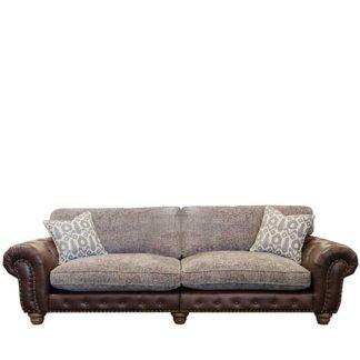 An Image of Melville Grand Split Frame Standard Back Sofa - Barker & Stonehouse