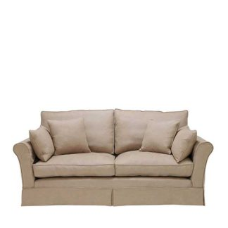 An Image of Berkeley Fabric Loose Covers Medium Sofa - Barker & Stonehouse