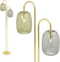 An Image of Lykke Floor Lamp, Multi & Brass
