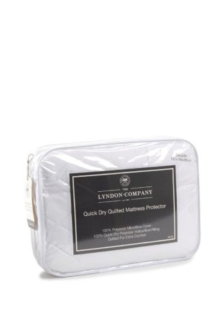 An Image of Quick Dry Quilted Single Mattress Protector