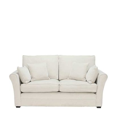 An Image of Berkeley Fabric Fixed Cover Small Sofa - Barker & Stonehouse