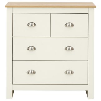 An Image of Lancaster Chest of Drawers Cream and Brown