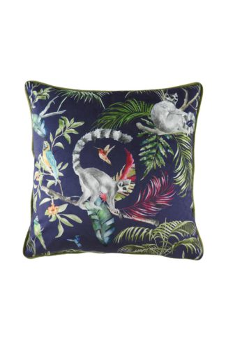 An Image of Jungle Lemur Cushion