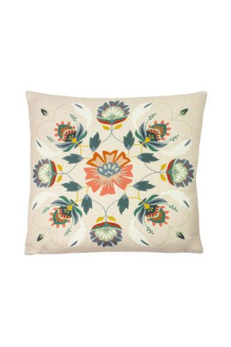 An Image of Folk Floral Cushion