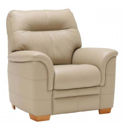 An Image of Parker Knoll Hudson Armchair Leather