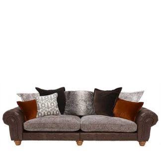 An Image of Melville Grand Split Frame Pillow Back Sofa - Barker & Stonehouse
