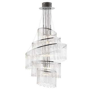 An Image of Vogue Camille 24 Light 73cm Chandelier Chrome