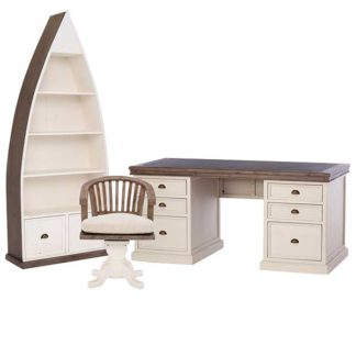 An Image of Berkshire Reclaimed Wood Office Set