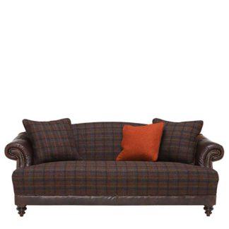 An Image of Harris Tweed Taransay Midi Sofa - Barker & Stonehouse