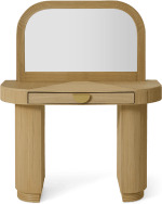 An Image of Azrou Dressing Table, Natural Cane