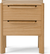 An Image of Ardelle Bedside Table, Oak