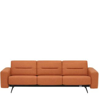 An Image of Stressless Stella 3 Seater Sofa Calido - Barker & Stonehouse