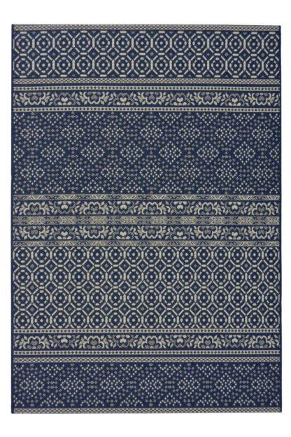 An Image of Homemaker Aztec In & Outdoor Rug - 160x230cm - Blue