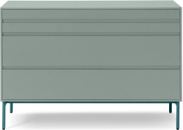 An Image of Donica Chest of Drawers, Concrete Blue