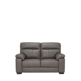 An Image of Clark 2 Seater Leather Sofa - Barker & Stonehouse