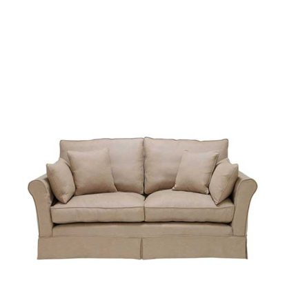 An Image of Berkeley Fabric Loose Covers Small Sofa - Barker & Stonehouse