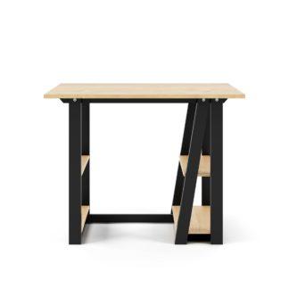 An Image of Penzance Desk Black