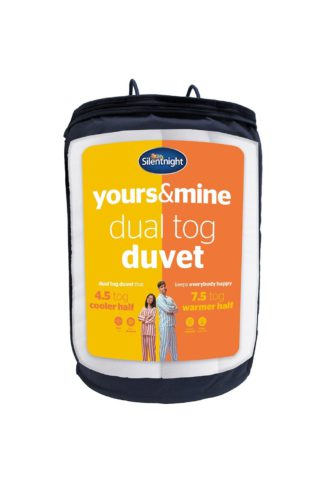 An Image of Yours And Mine Dual King Duvet 7.5 4.5 Tog