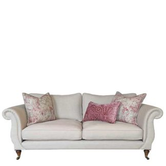 An Image of Drew Pritchard Atherton Standard Back 4 Seater Sofa - Barker & Stonehouse