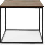 An Image of Deme Side Table, Rust Effect