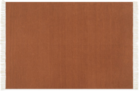 An Image of Ofrah Indoor/Outdoor Rug, Large 160 x 230cm, Terracotta