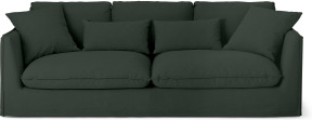 An Image of Kasiani 4 Seater Sofa, Bayleaf Cotton & Linen Mix
