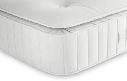 An Image of M&S Essential 325 Open Coil Medium Pillowtop Mattress