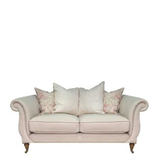 An Image of Drew Pritchard Atherton Pillow Back 2 Seater Sofa - Barker & Stonehouse