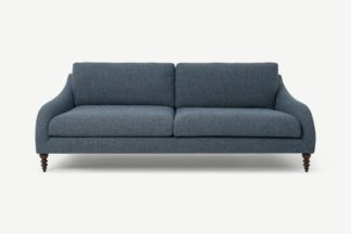 An Image of Andrin 3 Seater Sofa, Aegean Eco Weave