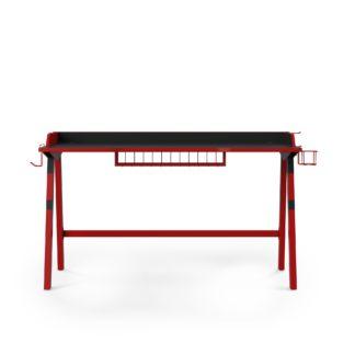 An Image of Fuego Gaming Desk Black