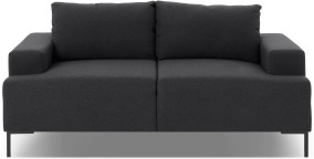 An Image of Frederik 2 Seater Sofa, Sterling Grey