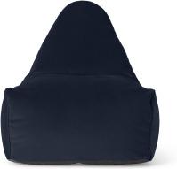 An Image of Ayra Bean Chair, Royal Blue Velvet
