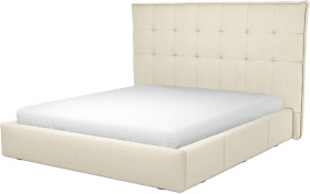 An Image of Lamas Super King Size Bed with Storage Drawers, Putty Cotton