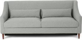 An Image of Herton 3 Seater Sofa Bed, Mountain Grey