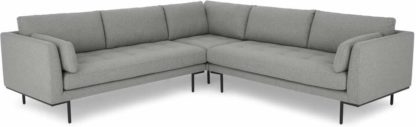 An Image of Harlow Corner Sofa, Mountain Grey