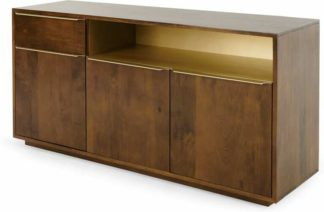 An Image of Anderson Sideboard, Mango Wood & Brass
