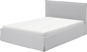 An Image of Orsa King Size Ottoman Storage Bed, Mineral Cotton & Linen Mix